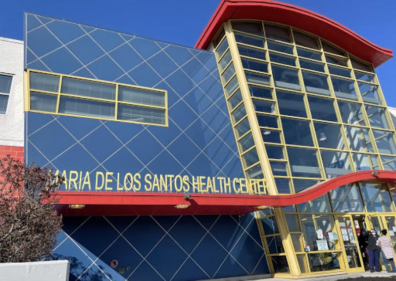 exterior of maria de los santos health center